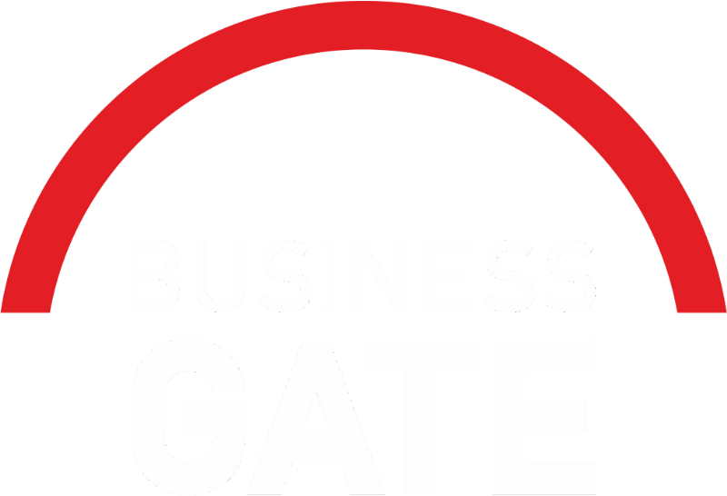 Logo Business Gate coworkingového centra v Karviné